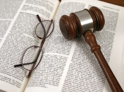 Glasses and Gavel on a Book - Elder Law